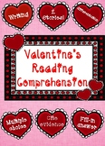 Valentine's Themed Reading Comprehension