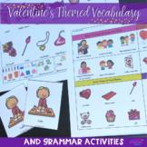 Valentine's Themed Vocabulary & Grammar Activities