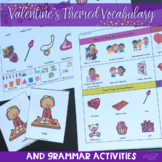Valentine's Themed Vocabulary & Grammar Activities