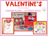 Valentine's Tot School: Lesson Plans and Activity Pack