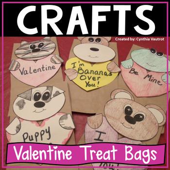 Valentine's Treat Bags Freebie Craft