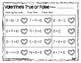 Valentine's True or False  {Freebie!}