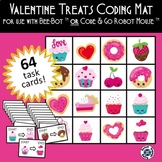 Valentine's Valentines Day Coding Mat for Bee-Bot or Code & Go Robot Mouse