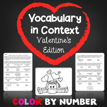 Valentine's Vocabulary in Context