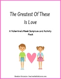 Valentine's Week Scripture and Activity Pack
