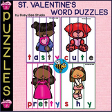 Valentine's Word Puzzles for ESL Kids and Young Learners