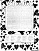 Valentine's Word Search Fun! Color & Black and White Version!