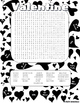 Valentine's Word Search Fun! Color & Black and White Version!