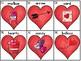 Valentine's Word Work using Letter Tiles