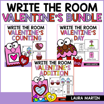 Valentine's Write the Room Bundle