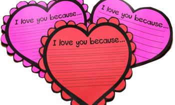 Valentine's Writing Craft
