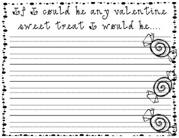 Valentine's Writing Prompt