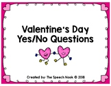 Valentine's Yes/No Questions