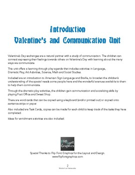 Valentine's and Communication