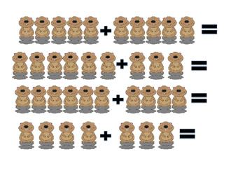 Valentine's day Math (Subtraction)