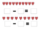 Valentine's day Math (Subtraction)