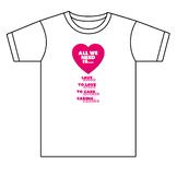 Valentine's day T-shirt design - Version 1