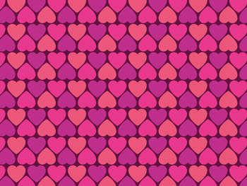 picture about Decorative Paper Printable called Valentines working day ornamental paper - Variation 1