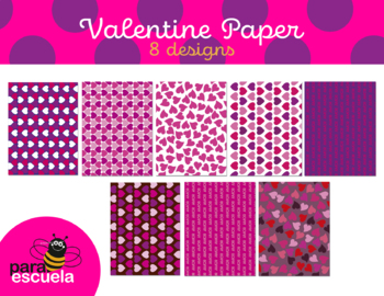 photo about Printable Decorative Paper identified as Valentines working day ornamental paper - Variation 2
