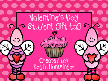 Valentine's day gift tags