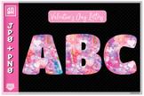 Valentine's day letter set, Valentine's Alphabet 26 letter