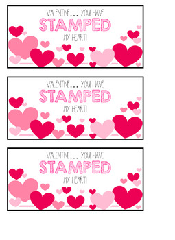 Valentine's for students and co-workers!