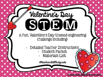 Valentine's Day STEM - Design and Build a trap to catch Cupid