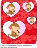 Valentine shape sort Pre K