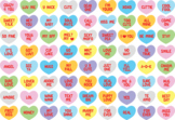 Valentine's Candy Hearts svg - Candy's SVG - Candy hearts