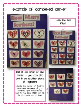 """Valentine""""Lift the Flap"""" Syllable Interactive Literacy Center"""