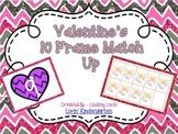 Valentine's 10 Frame Match Up {Freebie!}