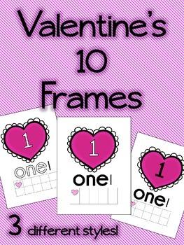 Valentine's 10 Frames