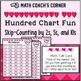 Valentine's 100 Charts for Counting by 2s, 5s, and 10s