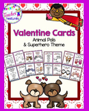 Valentine Cards (Animals and Superheroes)