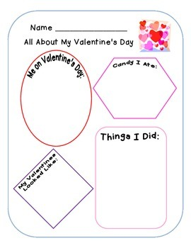 Valentines Activities (Common Core Aligned)
