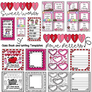 Valentine's Activities and Craftivities with SPLAT THE CAT!