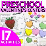 Preschool VALENTINES Activities and Centers