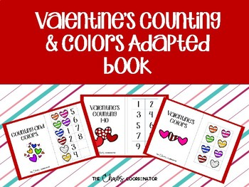 Valentines Adapted Book Bundle for Special Education