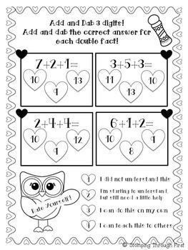 Valentine's Add and Dab FREEBIE!