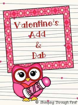 Valentine's Add and Dab FREEBIE!