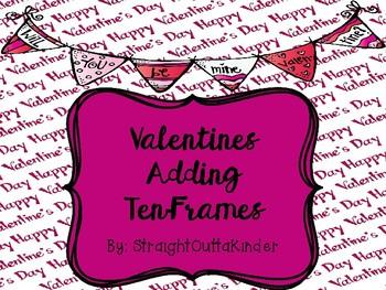 Valentines Adding Ten-Frames