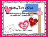 Valentine's Adding Tens & Ones