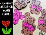 Valentines Addition Bears Math Center