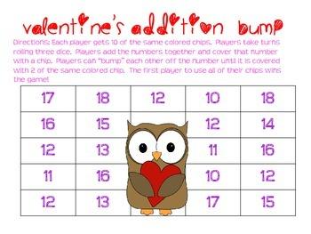 Valentine's Addition Bump to 18