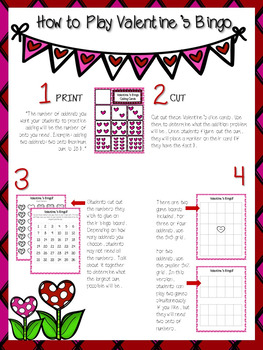 Valentines Addition Facts (cut and paste!)
