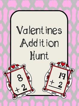 Valentines Addition Hunt