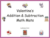 Valentine's Addition & Subtraction Math Mats eBook