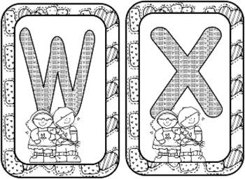 Valentines Alphabet Flash Cards (Common Core)