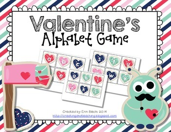 Valentine's Alphabet Game {Lowercase}