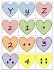 Valentine's Alphabet and Number Match